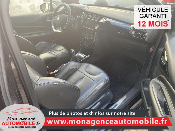 Citroën DS3(carte Grise Offerte) 1.6 HDI BlueHDI 100 / Executive - Mon Agence Automobile